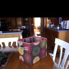 Fabric box for sammy