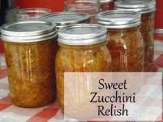 Heathers Relish recipe w/ celery seed, instead of dry mustard. Yummy Zucchini Recipes, Yummy Food, Appetizer Salads, Appetizers, Bountiful Harvest, Dehydrated Food, Seasoning Mixes, Canning Recipes, Food And Drink