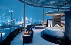 Urban Escape: Hyatt on the Bund, Shanghai, China  #jetsettercurator