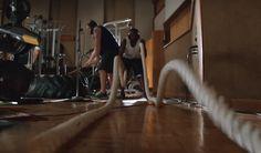SOCIAL & MARKETING: Gillette Training Tracks. Composizione per palestra e atleti.