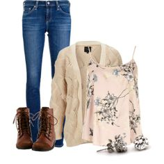 """School outfit"" by destinystedman on Polyvore"