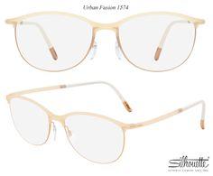 3f8201737165 Silhouette Urban Fusion Fullrim 1574 20-6056/Ivory Eyeglasses Fashion  Eyewear Women's/Unisex