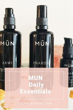 I've been waiting for MUN to introduce a cleanser, and I am really pleased with it. With this addition, they now have a 3-step daily essentials routine that is quick and effective…just the way I like it. #selfcare #skincare #beauty