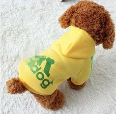 Pet Dog Hoodie Sweatshirt Clothes