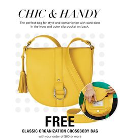 Avon Coupon Code July 2016: Free Avon Crossbody Bag with $60 or more. Use Code: BAG online at http://brookekarnold.avonrepresentative.com. Expires: Midnight 7/13/16.