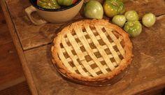 Sweet Green Tomato Pie from P. Allen Smith