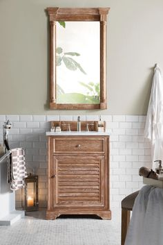 "26"" Savannah Driftwood Single Bathroom Vanity – VANITIES EXPO"