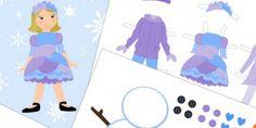 12 Paper Doll Printable Sets {free printables} via @tipjunkie