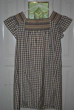 Moda International, Silk & Cotton Blend Dress
