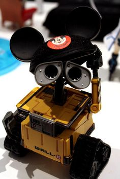 Cute WALL-E merch photo. I love when people do clever things with their toys.