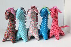 CUSTOM COLOR Stuffed giraffe  Choose the color  Nursery by Mippoos, €22.50