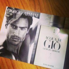 """Ya hemos recibido la #muestra #gratis del perfume """"Acqua de Giò"""", que Armani repartió entre sus fans el mes pasado. ¡Huele de maravilla!"""