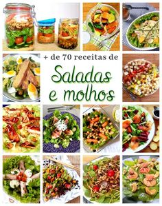 Over 70 suggestions for tasty summer salads and dressings- - Vegetarian Recipes, Snack Recipes, Healthy Recipes, Salad Menu, Menu Dieta, I Want Food, Catering, Food Porn, Foodblogger