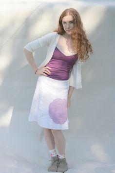 On a Skirt