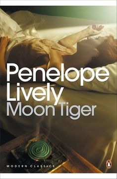 Moon Tiger by Penelope Lively (Claudia is famous, independent and dying. She remains defiant, telling her nurses that she will write a 'history of the world and, in the process, her own story.' But Claudia's life is entwined with others and she must allow those who knew her to put across their point of view. There is her brother and adversary; an untrustworthy lover who is the father to her conventional daughter; and there is Tom, her great love, found and lost in Second World War era…