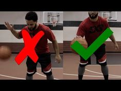 How To: 6 Tips to Dribble A Basketball Better in In this video Coach Rocky explains 6 tips that will help you dribble a basketball better and improve y. Youth Basketball Drills, Basketball Stats, Basketball Workouts, Basketball Shooting, Basketball Quotes, Basketball Players, Free Training Programs, No Crying In Baseball, Agility Training