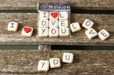 Mini galletas San Valentín
