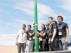 Estudiantes de la UABC lanzan cohete experimental