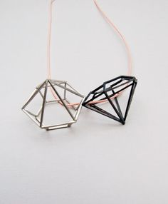 amantes by Amalia Vermell #jewelry #geometric