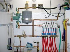 Picture of Troubleshoot If Necessary. Hydronic Radiant Floor Heating, Hydronic Heating, Dream Home Design, House Design, Water Heating Systems, Water Systems, Radiant Heat, Concrete Floors, Building Design