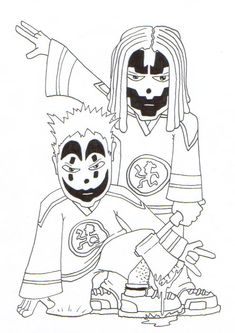 Hatchet Love Icp Pinterest Insane Clown Posse And Clown Posse Icp Coloring Pages