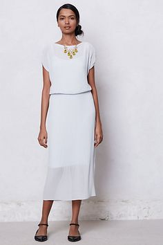Accordion  Midi Dress #anthropologie