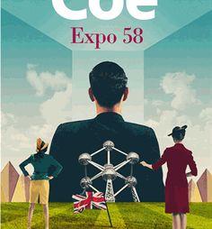 """Cette semaine sur L'Ivre de Lire : """"« Expo 58 », sous ses airs sarcastiques, narre en fait les désillusions d'une génération qui a cru possible ce qui ne l'est pas et vécu ce qui – tout simplement – n'existe pas. De la poudre aux yeux – d'un cynique."""" Une chronique de Mehtap Teke.  Expo 58 - Jonathan Coe - L'Ivre de Lire"""