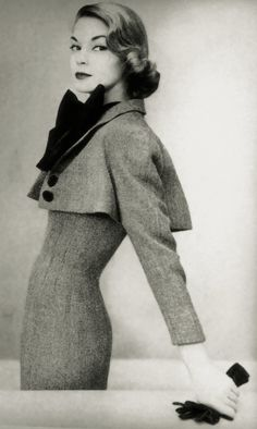 Jean Patchett in Norman Norell, 1951