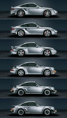 History of Porsche 911 Turbo