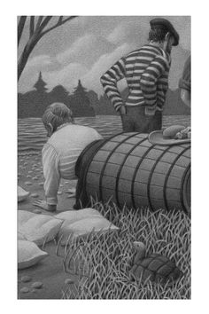 Annie Taylor gets into her Barrel by Chris Van Allsburg