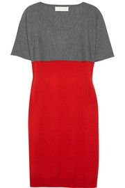 Cacharel Two-tone cashmere dress