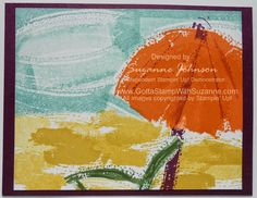STAMPIN UP! WORK OF ART- Beach Day by Suzanne Johnson at www.gottastampwithsuzanne.com