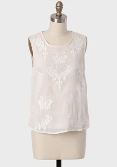 Honest Word Embroidered Top at #Ruche @shopruche  So girly and soft!