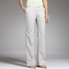 HPJ Crew City Fit Chino Pants Size 0 S fits 2 Very flattering fit chinos, City Fit by J Crew, higher on waist and wide leg. Light grey color with some stretch. Labelled Size 0 short but Fit runs large - fits me comfortably and I wear a size 2. That is why I am listing as size 2 short or petite. Please note actual color of the pants is grey -- J Crew picture used to show style and fit only. Any questions pls ask. Will consider bundling with any jeans in my closet. Make me an offer! J. Crew…