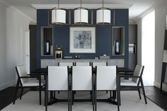 Living space & home interior design - Bailey Interior Design London Interior Design London, Luxury Interior, Indoor Lanterns, Lantern Pendant Lighting, Decoration, Dining Chairs, Dining Rooms, Living Spaces, Furniture