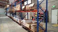 One of the most valuable benefits of a pallet racking system is its space-saving nature. Pallet Racking, Pallet Storage, Racking System, Can Design, Cairns, Storage Solutions, Space Saving, Warehouse, Shelving