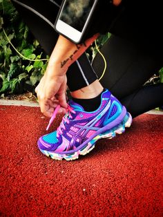 Asics --> best shoes for running