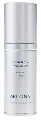 ARCONA ARCONA Vitamin A Complex 1.18 fl oz by ARCONA. Save 4 Off!. $65.00. Regenerate your skin with the power of antioxidants using ARCONA Vitamin A Complex. The effects of sun damage are reversed and dull, saggy skin is renewed. This synergistic formula uses Retinol to stimulate collagen production, resurfacing the skin to reduce signs of aging and firm your complexion. Regenerate your skin with the power of antioxidants using ARCONA Vitamin A Complex. This synergistic form...