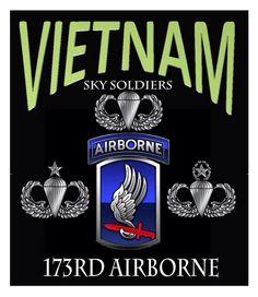 Vietnam & 173 rd Airborne. Sky Soldiers