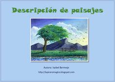 Descripción de paisajes by IsabelBermejo via slideshare