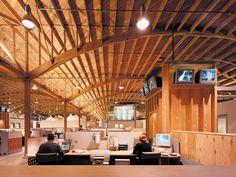 Twentieth Century Fox Digital Campus by Clive Wilkinson Architects , via Behance