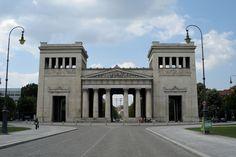 19TH CENTURY, Neo-Classicism, Germany - Leo Von Klenze (1784-1864): The Propylaea, 1846-60, Munich