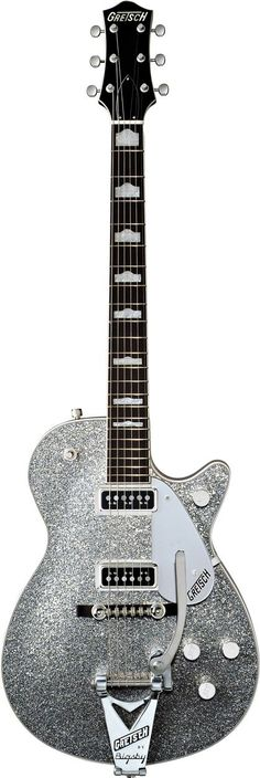 G6129T-1957 Silver Jet™ by Gretsch® Electric Guitars -- this makes me want to learn how to play guitar.