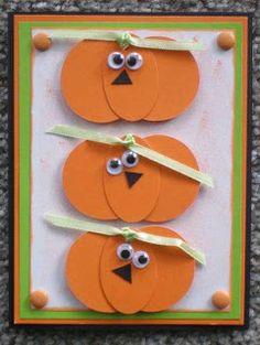 Handmade Halloween Cards  