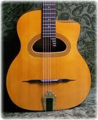 Oh, baby....the Gypsy Jazz guitar.