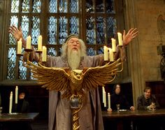 """""""Welcome to another year at Hogwarts."""" - Dumbledore Prisoner of Azkaban Harry Potter Characters, Harry Potter Fandom, Harry Potter World, Slytherin, Imagination Spongebob, Fans D'harry Potter, Hogwarts Professors, Michael Gambon, Yer A Wizard Harry"""