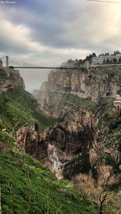Constantine, Algeria the city of Bridges.