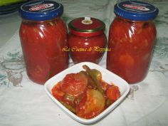 CONSERVA DI ANTIPASTO PIEMONTESE | La Cucina di Peppina
