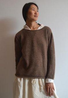 boatneck sweater, pipsqueak chapeau