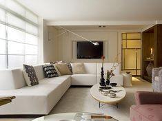 sofas em l para salas pequenas 6
